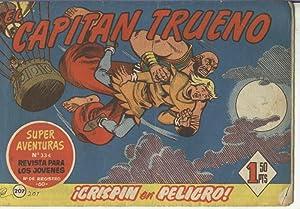 El Capitan Trueno original numero 207: Victor Mora-Ambros-Angel Pardo