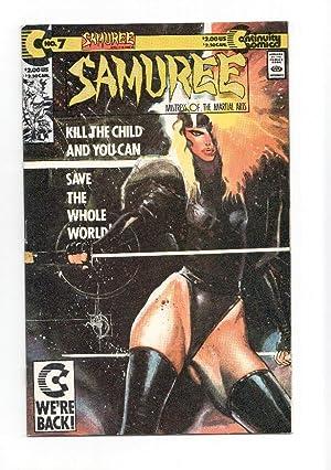 SAMUREE, Vol.1 Numero 07: Kill the Child: Elliot Maggin