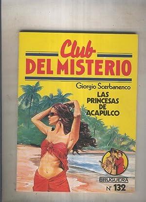 Club del Misterio numero 132:Las princesas de: Giorgio Scerbanenco
