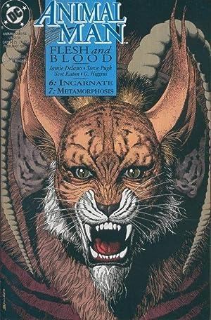 ANIMAL MAN Vol.1 numero 56: Flesh and: Steve Pugh