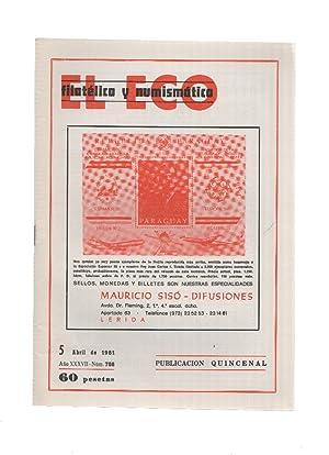 El Eco Filatelico y Numismatico numero 0788: Varios