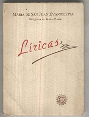 Liricas de Maria de San Juan Evangelista,: Maria de San