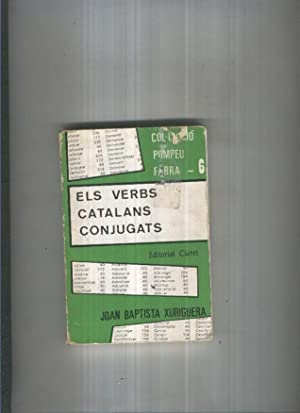 Els verbs catalans conjugats: Joan Baptista Xuriguera