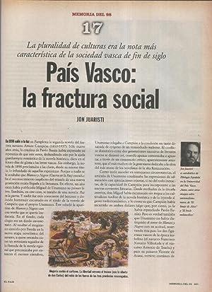 Memoria del 98 fasciculo 17: Pais Vasco: Varios