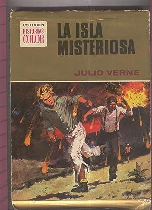 Coleccion Historias Color numero 05: La isla: Julio Verne, dibujos: