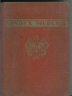 Index Merck (septima edicion 1930): Varios