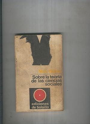 Nueva Coleccion Iberica numero 30: Sobre la: Max Weber