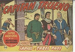 El Capitan Trueno original numero 308: Angel Pardo