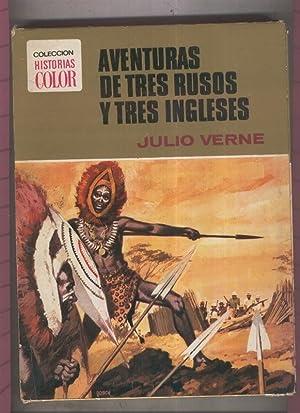 Coleccion Historias Color numero 07: Aventuras de: Julio Verne, dibujos: