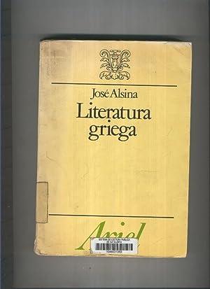 Literatura griega: Jose Alsina