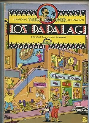Los Papalagi por Erich Scheurmann (encolado nuevamente: Erich Scheurmann