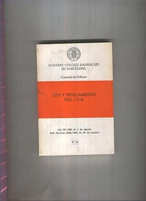 Ley y Reglamento del I.V.A: Varios