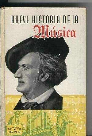 Breve historia de la musica: J.Subira y J.Casanovas