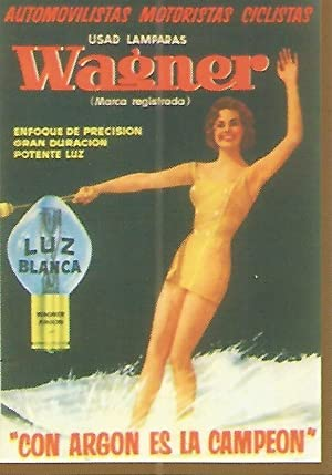 CALENDARIO PUBLICITARIO 00216: Lamparas Wagner: Varios