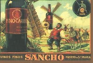 CALENDARIO PUBLICITARIO 00247: Vinos finos Sancho: Varios