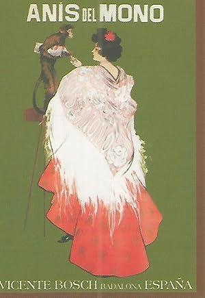 CALENDARIO PUBLICITARIO 00264: Anis del Mono: Varios