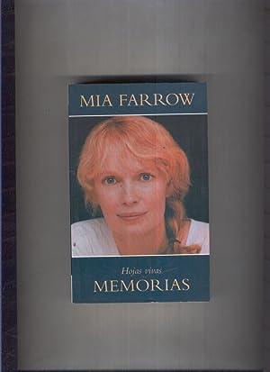 VIB numero 187/7: Hojas vivas.Memorias: Mia Farrow