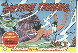 El Capitan trueno facsimil numero 242: Enigma: Angel Pardo-Victor Mora