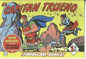 El Capitan trueno facsimil numero 244: Cavallari,: Angel Pardo-Victor Mora