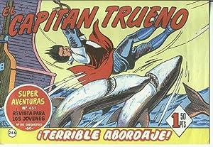 El Capitan trueno facsimil numero 246: Terrible: Angel Pardo-Victor Mora