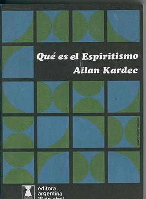 Que es el espiritismo: Allan Kardec