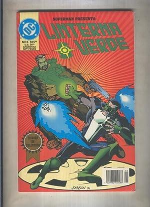Linterna Verde especial numero 5: Superman presenta: Marz-Banks-Tanghal