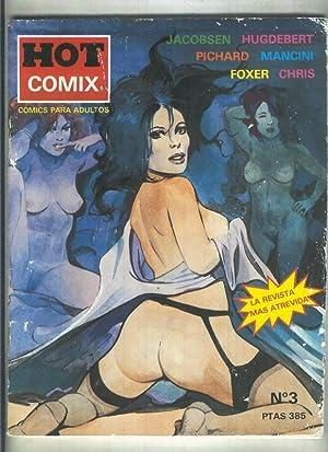 Hot Comix numero 03: Varios