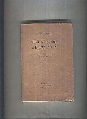 Segon llibre de Poesies: Angel Guimera