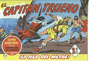 El Capitan trueno facsimil numero 224: La: Angel Pardo-Victor Mora