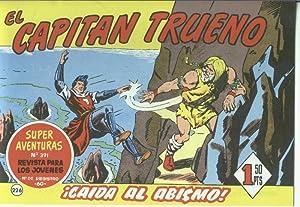 El Capitan trueno facsimil numero 226: Caida: Angel Pardo-Victor Mora
