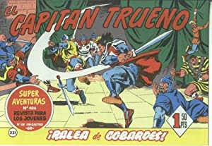 El Capitan trueno facsimil numero 231: Ralea: Angel Pardo-Victor Mora