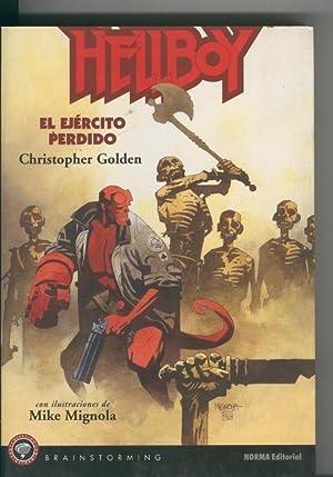 Coleccion Brainstorming numero 06: Hellboy, el ejercito: Christopher Golden y