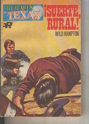 Rurales de Texas numero 376: Suerte, rural: Wild Hampton