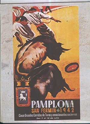 La pasion por los toros: Cartel Sanfermines: Varios