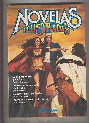 Novelas ilustradas volumen 07: En las montañas: Emilio Salgari-Julio Verne