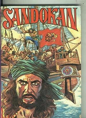 Sandokan: los dos tigres: Emilio Salgari,dibujos: Fagarazzi
