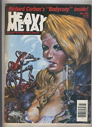 Heavy Metal numero mayo 1985: Varios