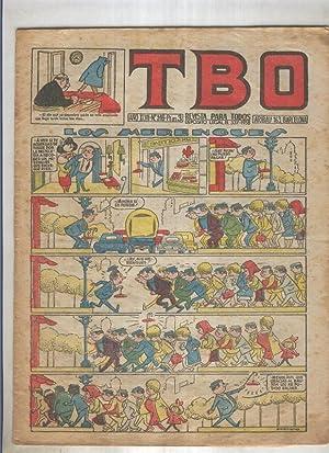 TBO numero 316: Los merengues (Moreno), (numerado: Varios