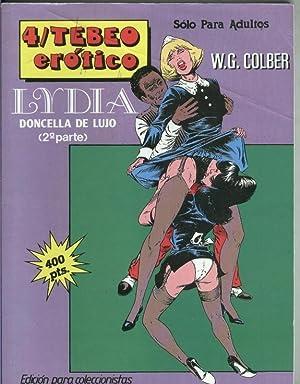 Tebeo Erotico numero 4: Lydia doncella de: W.G.Colber