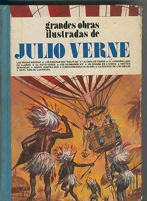Grandes obras ilustradas de Julio Verne volumen: Varios