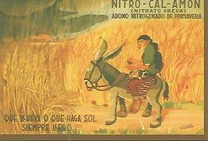 CALENDARIO PUBLICITARIO 00242: Nitro - cal -: Varios
