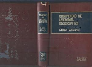Compendio de anatomia descriptiva: L. Testut, A.