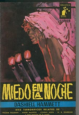 Biblioteca Oro Terror numero 01: Miedo en: Dashiell Hammett