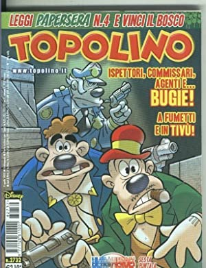 Topolino numero 2732, abril 2008: Walt Disney