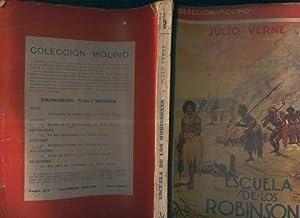 Molino numero 02: Escuela de los Robinsones: Julio Verne
