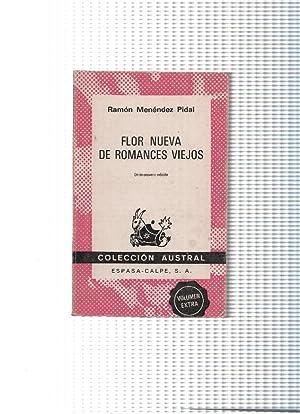 Flor Nueva de Romances Viejos: Ramon Menendez Pidal