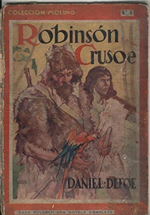 Robinson Crusoe (mal estado segun detalle): Daniel Defoe