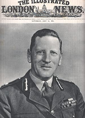 THE ILLUSTRATED LONDON NEWS, July 12 1941: General Sir Claude Auchinleck