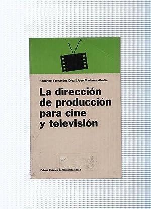 Papeles de Comunicacion, 3: La direccion de: Federico Fernandez Diez,