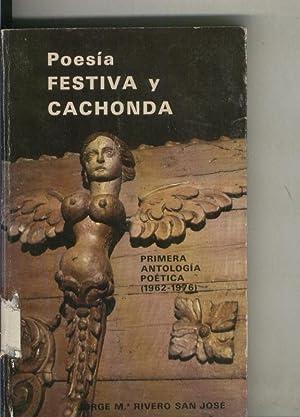 Poesia festiva y cachonda (algunas hojas estan: Jorge Maria Rivero